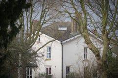 对一个传统英王乔治一世至三世时期城内住宅的门面典型对中央伦敦布卢姆茨伯里区  库存图片