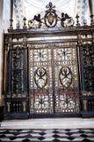对一个礼拜堂的门圣约翰Lateran大教堂的在罗马意大利 免版税库存照片
