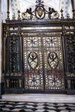 对一个礼拜堂的门圣约翰Lateran大教堂的在罗马意大利 免版税库存图片