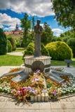 对下落的战士的纪念碑从1990-1999 免版税图库摄影