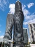 绝对世界摩天大楼密西沙加 库存照片