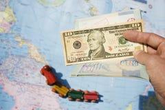 对世界的护照 免版税库存照片