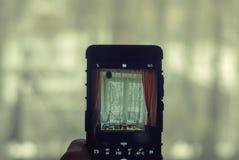 对世界的窗口 库存照片