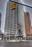对乔・路易斯的纪念碑 免版税图库摄影