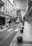 对云香d'Antibes的看法在戛纳,法国 免版税库存照片