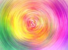 对五颜六色的螺旋背景 向量例证