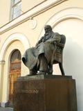 对亚历山大・尼古拉耶维奇・奥斯特洛夫斯基的纪念碑在莫斯科,俄罗斯 免版税库存照片