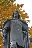 对亚历山大・涅夫斯基的纪念碑 免版税库存图片
