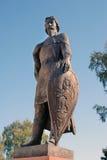 对亚历山大・涅夫斯基的纪念碑 库存图片