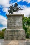 对亚历山大Karadjordjevic国王的Nis的纪念碑 免版税图库摄影
