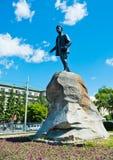 对亚科夫・斯维尔德洛夫的纪念碑 图库摄影