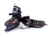 对人冰球冰鞋 库存图片