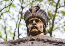 对伊万・马泽帕的纪念碑 免版税图库摄影