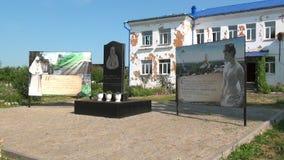 对伊丽莎白Fedorovna罗曼诺娃的纪念碑 股票视频