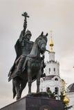 对伊凡四世的纪念碑 免版税库存照片