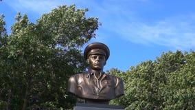 对传奇VDV司令员马尔格洛夫的纪念碑 股票录像