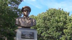 对传奇VDV战士马尔格洛夫的纪念碑 影视素材