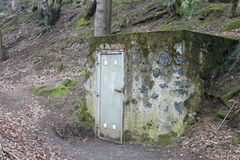 对供水系统的入口 库存图片