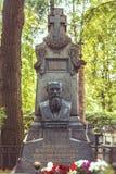 对俄国作家、俄语经典之作和世界文学费奥多尔杜思妥也夫斯基的纪念碑 免版税库存图片