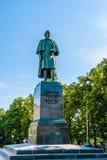 对俄国作家尼可拉果戈理的纪念碑 免版税图库摄影