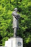 对俄国诗人Nekrasov,雅罗斯拉夫尔市的一座纪念碑,可以30日2016年 库存图片