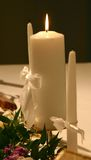 对光检查仪式婚礼 库存图片