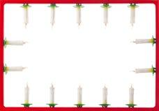 对光检查圣诞节框架 免版税图库摄影