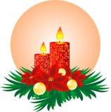 对光检查圣诞节 免版税库存照片