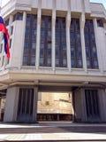 对克里米亚半岛国务院大厦的入口 免版税图库摄影