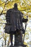 对公爵奥尔布雷克特, Konigsberg大学的创建者的纪念碑 库存照片