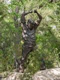对内华达矿工的进贡 免版税库存照片