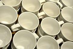 对准线正式杯子 图库摄影