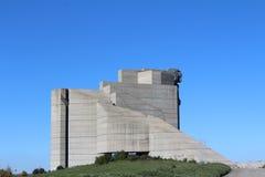 1300年对几年的保加利亚纪念碑 图库摄影