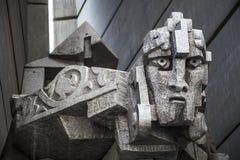 1300年对几年的保加利亚纪念碑 库存图片