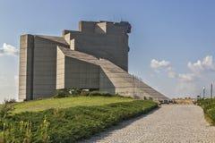 1300年对几年的保加利亚纪念碑 免版税库存照片