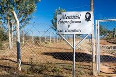 对切・格瓦拉陵墓的入口 免版税库存图片