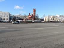 列宁广场 库存图片
