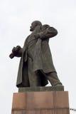 对列宁的纪念碑 免版税库存图片