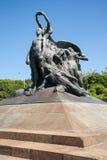 对加里波第热那亚处所的纪念碑一千 免版税库存图片