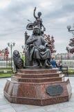 对劳伦斯di彼罗de '壮观的Medici的纪念碑 马里埃尔共和国,约什卡尔奥拉,俄罗斯共和国 05/21/2016 Th 免版税库存照片