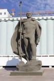 对北莫尔斯克的居民的纪念碑 免版税库存图片