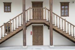 对历史建筑的入口 库存照片