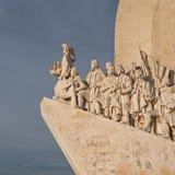 对发现的纪念碑-贝拉母,里斯本 免版税库存照片
