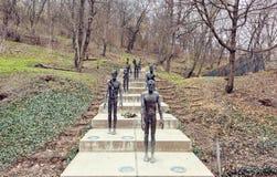 对受害者的共产主义纪念品 免版税库存照片