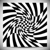 对各种各样的样式的畸变作用 几何被扭屈的textu 向量例证