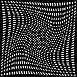 对各种各样的样式的畸变作用 几何被扭屈的textu 库存例证