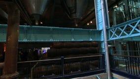 对吉尼斯仓库的游览 影视素材