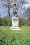 对同盟军史蒂文中将莳萝李的纪念品1863,在Vicksburg全国军事公园, MS 库存照片