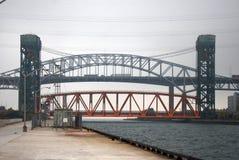 对哈密尔顿港口的入口 免版税库存照片