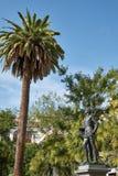 对唐璜的纪念碑 图库摄影